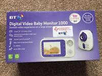 BT Digital baby monitor 1000