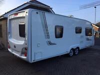 Swift Challenger 620 caravan twin axle fixed bed elddis buccaneer conqueror