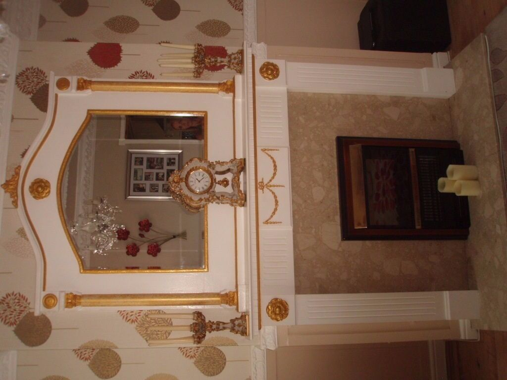 stunning mirror fire surround back panel hearth in