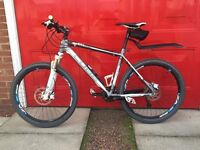 Cube ltd pro mountain bike, large frame in as new condition