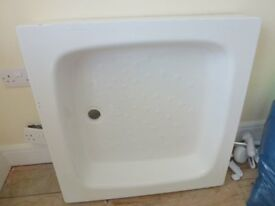 White Shower Tray - Good Condition