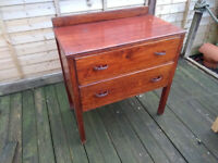 Small Wooden Chest of Drawers, possibly for upcycling