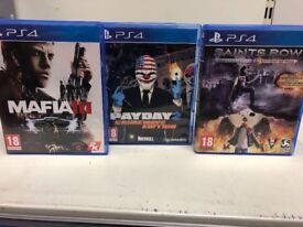 PS4 games- 3 for £30