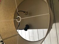 Ceiling light lampshade - FREE