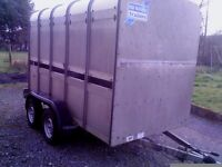 10 x 5-3 ifor williams cattle trailer,Clean/tidy, lights/brakes working, EASY TOWED