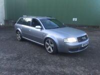 *** Audi rs6 2003 sline swap px car van ****
