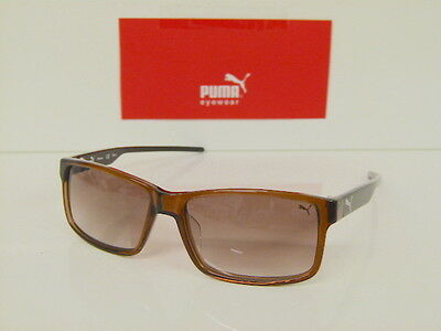 Originale Sonnenbrille PUMA Kunststoff PU 15157 BR