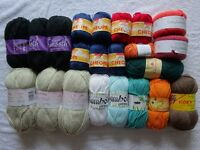Joblot! Quality yarn for knitting and crochet