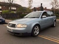2002 Audi A6 V6 2.5 Tdi Diesel Estate Car Great Condition Superb Drive Cream Heated Leather Seats !!