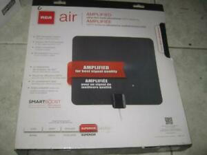 RCA Amplified Omni Directional Indoor HD TV Antenna. Ultra Thin. Multi Directional. Smart Boost. Watch Live HD Channel