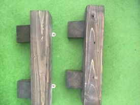 Upcycled dark oak shelves(2)