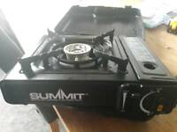 Summit portable gas cooker