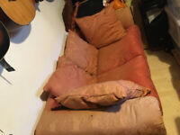 Double couch bed ( Somneil ) French make . Works well No Traders