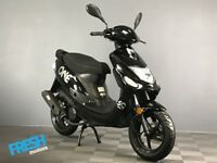 Neco One 12 Nero Black 2 Stroke 50cc Scooter - Brand New Learner Scooter / Moped