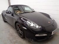 PORSCHE BOXSTER , 2010 , LOW MILEAGE + FULL HISTORY, LONG MOT, FINANCE AVAILABLE, WARRANTY, STUNNING