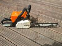 stihl 017 chainsaw
