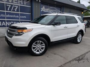 2012 Ford Explorer XLT + 4x4 + V6 + Caméra + 7 Places