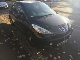 Peugeot 207 1.4 petrol Electric windows Fog lights Cinter looking Long mot