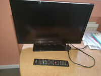 "22"" Television and DVD Player"