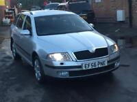 2007 SKODA OCTAVIA TDI ESTATE NEW SHAPE STARTS AND DRIVES GOOD LONG MOT SUPERB A4 A6