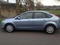 2007 Ford Focus 1.6 TDCI 78K Very Low Mileage 1 previous owner long mot