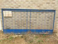 Security panels brick guards not Heras or Harris
