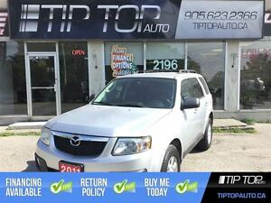 2011 Mazda Tribute GS ** Low KMs, V6, 4WD, Well Equipped **