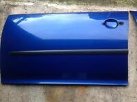 VW GOLF MK5 DOOR SKINS LASER BLUE PEARL