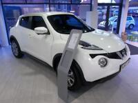Nissan Juke 1.5 dCi Tekna 5dr (arctic white) 2017