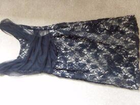 Size 14 Next Black Lace Dress