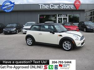 2012 MINI Cooper SUNROOF, HTD SEATS, BLUETOOTH