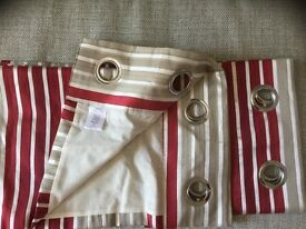 1 PAIR RING TOP CURTAINS FROM NEXT STORES. BRAND NEW