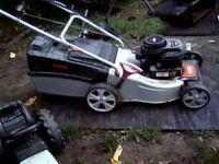 al-ko siver br 45 self drive lawn mower
