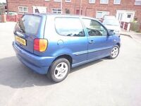 VOLKSWAGEN POLO 1.4...LONG MOT..PART EX TO CLEAR