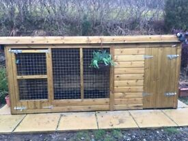 Dog kennel nearly New
