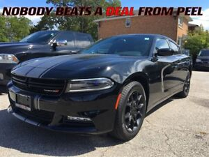 2016 Dodge Charger SXT**MATTE BLACK WHEELS**NAV**ROOF**HEAT SEAT