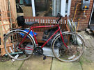Gents touring bike Bicycle Apollo Legend in red good condition