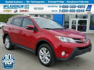 2013 Toyota RAV4 *Htd Lthr Seats *Back Up Cam *Bluetooth *AWD