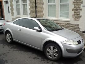 for sale megane convertible low mileage