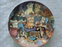 Bradford Exchange Collectors Plate - Frisky Business