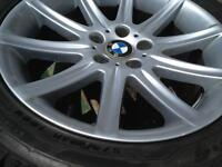 2012 BMW 650i winter rims/tires