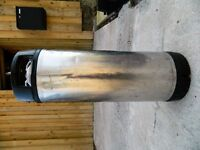 4.5gal/20ltr ball lock cornelius keg.