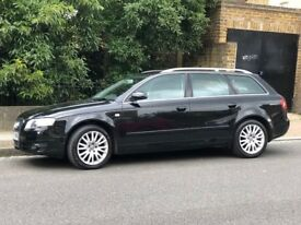 Audi A4 Estate Black