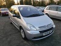 Citroen xsara Picasso 1.6L 5DR 2005 low mileage long mot Full service history excellent condition