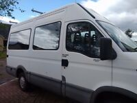 3 Berth, 6 travelling seat, night heater, roofrack, motorhome ready for adventures