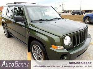 2009 Jeep Patriot Sport ** Certified & E-Tested ** LOW KM $7,499
