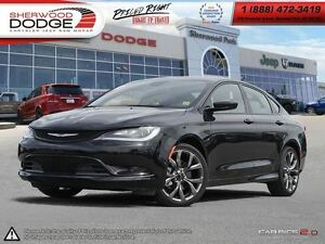 2016 Chrysler 200 S | UCONNECT | PADDLE SHIFTERS | SPORT MODE