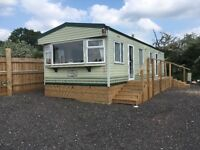 Static caravans for rent, 2 bedrooms, good condition
