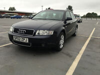 2002 Audi A4 Avant 1.9 TDI ESTATE FULL SERVICE HISTORY, 2 KEYS, ONE OWNER MOT JUST DONE FOR YEAR