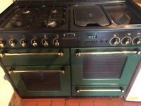 Rangemaster 110 dual fuel oven